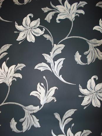 Black wallpaper with silver flowers cacosdafap black wallpaper with silver flowers mightylinksfo
